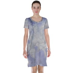 Marbled Structure 5b Short Sleeve Nightdress