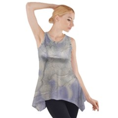 Marbled Structure 5b Side Drop Tank Tunic