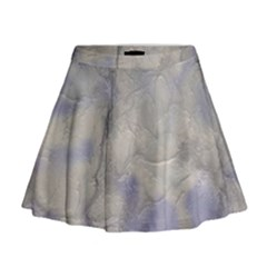 Marbled Structure 5b Mini Flare Skirt