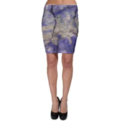 Marbled Structure 5b2 Bodycon Skirt
