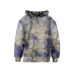 Marbled Structure 5b2 Kids  Pullover Hoodie
