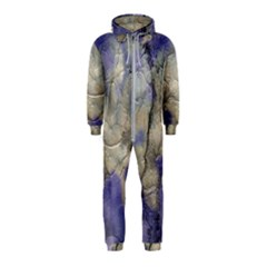 Marbled Structure 5b2 Hooded Jumpsuit (kids)
