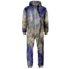 Marbled Structure 5b2 Hooded Jumpsuit (men)