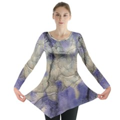 Marbled Structure 5b2 Long Sleeve Tunic
