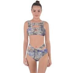 Marbled Structure 5b2 Bandaged Up Bikini Set