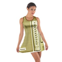 I Love My Radio! Cotton Racerback Dress