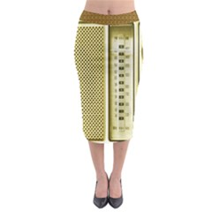 I Love My Radio! Midi Pencil Skirt