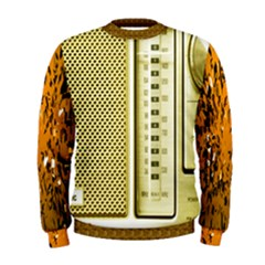 I Love My Radio! Men s Sweatshirt