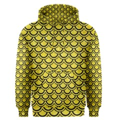 Scales2 Black Marble & Gold Glitter (r) Men s Pullover Hoodie