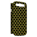 SCALES3 BLACK MARBLE & GOLD GLITTER Samsung Galaxy S III Hardshell Case (PC+Silicone) View2