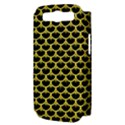 SCALES3 BLACK MARBLE & GOLD GLITTER Samsung Galaxy S III Hardshell Case (PC+Silicone) View3