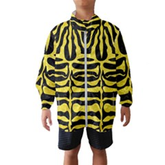 Skin2 Black Marble & Gold Glitter Wind Breaker (kids)