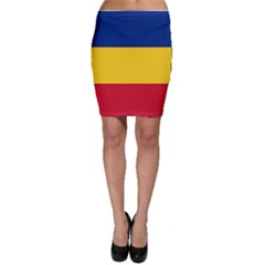 Gozarto Flag Bodycon Skirt