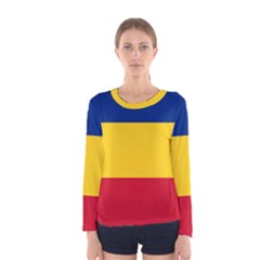 Gozarto Flag Women s Long Sleeve Tee