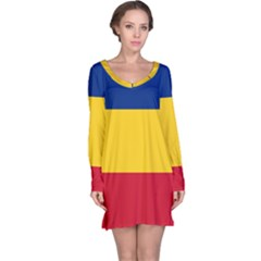 Gozarto Flag Long Sleeve Nightdress