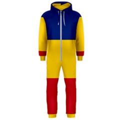 Gozarto Flag Hooded Jumpsuit (men)