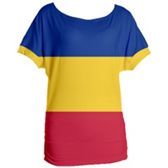 Gozarto Flag Women s Oversized Tee