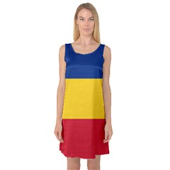 Gozarto Flag Sleeveless Satin Nightdress