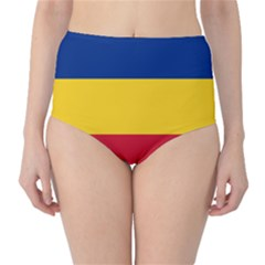 Gozarto Flag High Waist Bikini Bottoms