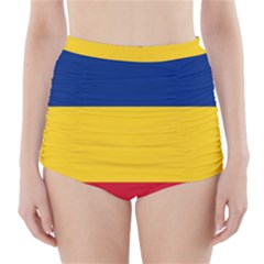 Gozarto Flag High Waisted Bikini Bottoms