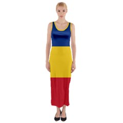 Gozarto Flag Fitted Maxi Dress