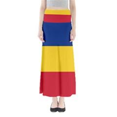 Gozarto Flag Full Length Maxi Skirt