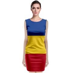 Gozarto Flag Classic Sleeveless Midi Dress