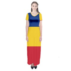 Gozarto Flag Short Sleeve Maxi Dress