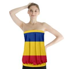 Gozarto Flag Strapless Top