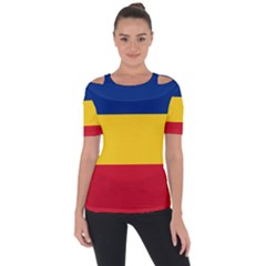 Gozarto Flag Short Sleeve Top