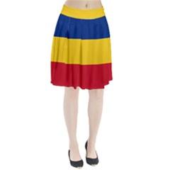 Gozarto Flag Pleated Skirt