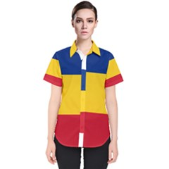 Gozarto Flag Women s Short Sleeve Shirt