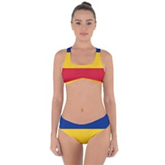 Gozarto Flag Criss Cross Bikini Set