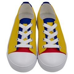Gozarto Flag Kids  Low Top Canvas Sneakers
