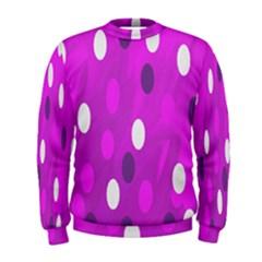 Pink Rain Drops Of Love! Men s Sweatshirt