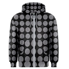 Circles1 Black Marble & Gray Colored Pencilcircle1 Black Marble & Gray Colored Pencil Men s Zipper Hoodie