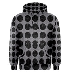Circles1 Black Marble & Gray Colored Pencil (r) Men s Pullover Hoodie