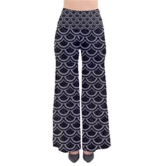 Scales2 Black Marble & Gray Colored Pencil Pants