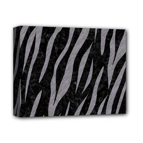 Skin3 Black Marble & Gray Colored Pencil Deluxe Canvas 14  X 11