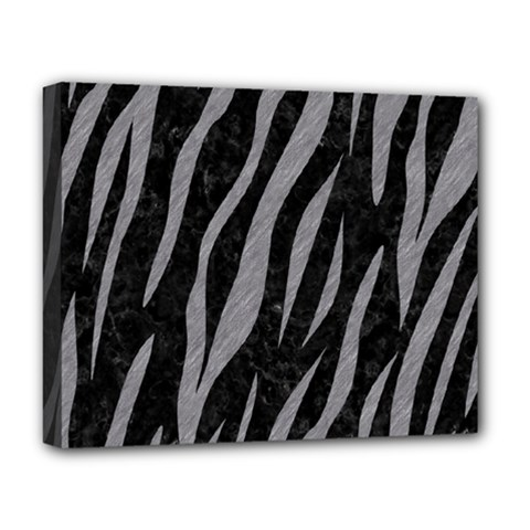 Skin3 Black Marble & Gray Colored Pencil Deluxe Canvas 20  X 16