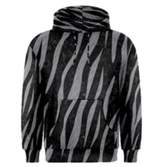 Skin3 Black Marble & Gray Colored Pencil Men s Pullover Hoodie