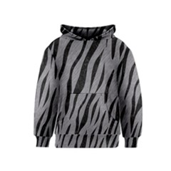 Skin3 Black Marble & Gray Colored Pencil (r) Kids  Pullover Hoodie