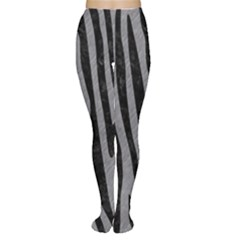 Skin4 Black Marble & Gray Colored Pencil Women s Tights