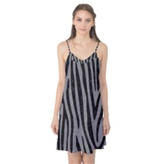 Skin4 Black Marble & Gray Colored Pencil Camis Nightgown
