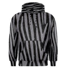 Skin4 Black Marble & Gray Colored Pencil (r) Men s Pullover Hoodie