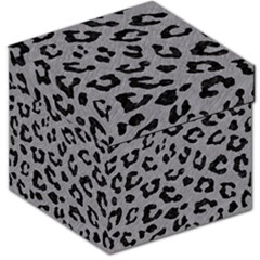 Skin5 Black Marble & Gray Colored Pencil Storage Stool 12