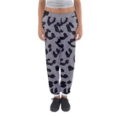 Skin5 Black Marble & Gray Colored Pencil Women s Jogger Sweatpants