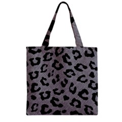 Skin5 Black Marble & Gray Colored Pencil Zipper Grocery Tote Bag