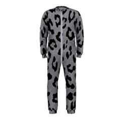 Skin5 Black Marble & Gray Colored Pencil Onepiece Jumpsuit (kids)