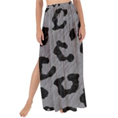 Skin5 Black Marble & Gray Colored Pencil Maxi Chiffon Tie Up Sarong